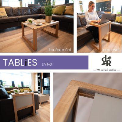 řada stolů Tablies pro Dřevodílo